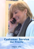Customer Service - Our Priority